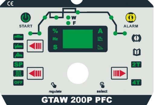 GTAW 200P PFC Detail